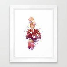 Janelle Monae's Neon Dream Framed Art Print