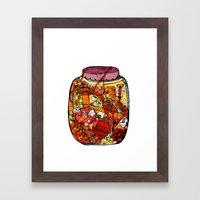 Preserved Vegetables Framed Art Print