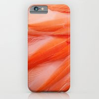 iPhone & iPod Case featuring Flamingo Feathers by Erin Johnson