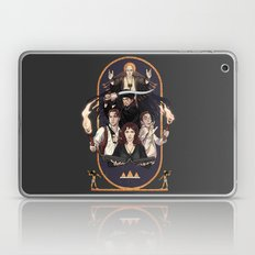 No harm ever came from reading a book Laptop & iPad Skin