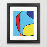 Untitled titulable Framed Art Print