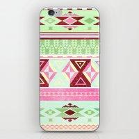 Neon Aztec iPhone & iPod Skin