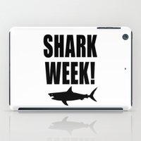Shark Week iPad Case