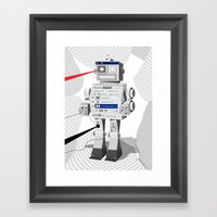 Photobot Framed Art Print