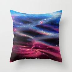 Universe Reflected Throw Pillow