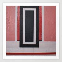 THE SHIVER DOOR Art Print