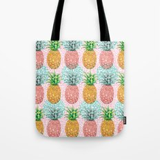 Pineapple Candy Tote Bag