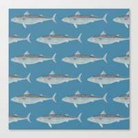 Wholly Mackerel Canvas Print