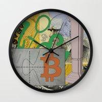 Darwin And The Blockchai… Wall Clock