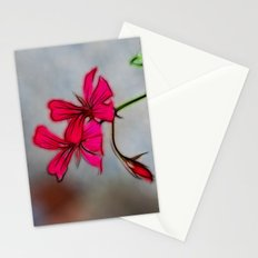 Geranium Stationery Cards