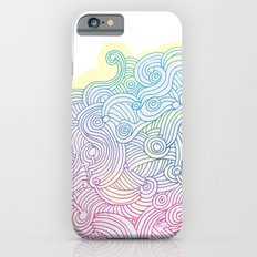 Swirling clouds in the heavens iPhone 6 Slim Case