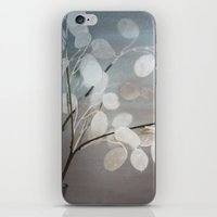 WHITE PAPER FLOWERS iPhone & iPod Skin
