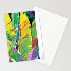 Exotic Leaves Stationery Cards