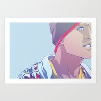 Down (Jesse Pinkman - Breaking Bad) Art Print