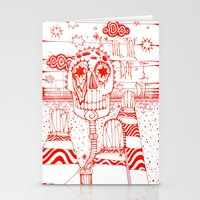 Dead Head Stationery Cards