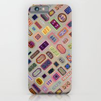 iPhone & iPod Case featuring Multi color melody light by Vanya