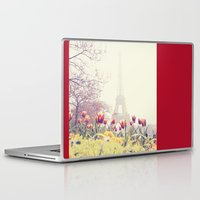 paris Laptop & iPad Skins featuring Paris by Gabriela Da Costa