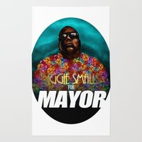 Biggie Smalls For Mayor Rug