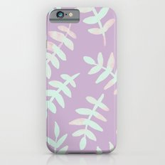 Watercolor Ferns - Dusty Rose iPhone 6s Slim Case