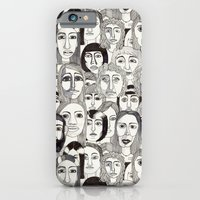 Faces in the Tube iPhone 6 Slim Case