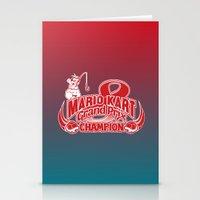 Mario Kart 8 Champion Stationery Cards