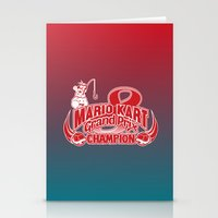 Mario Kart 8 Champion Stationery Cards