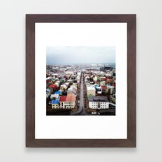 reykjavik Framed Art Print