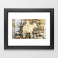 X brand Framed Art Print