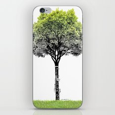 Rooted Sound V (clarinet) iPhone & iPod Skin