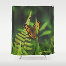 Butterfly, Bali Shower Curtain