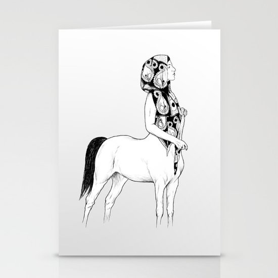 horses for courses I Stationery Card