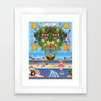 Cabana Fever Framed Art Print
