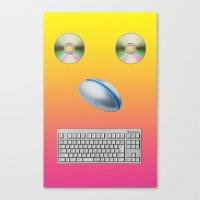 KOMPUTERRR Canvas Print