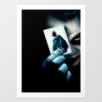 Darke Knighte Art Print