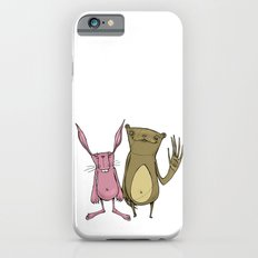 Bunny and Bear Friends  Slim Case iPhone 6s