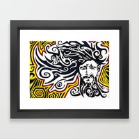 Accidenti Framed Art Print