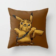 Poké Wars Throw Pillow