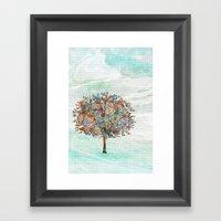 The Tree Of Strength Framed Art Print