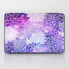 Space Dahlias  iPad Case