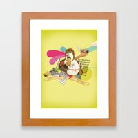 UNTITLED #1 Framed Art Print