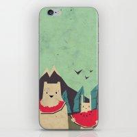 I Want Moaarrr! iPhone & iPod Skin