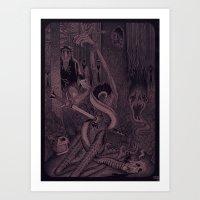 Night of the Sacrifice Art Print