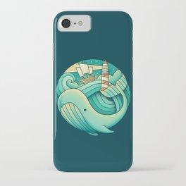 Clear iPhone Case - Into the Ocean - Enkel Dika