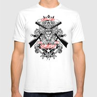 Stop Your Lion Mens Fitted Tee White SMALL