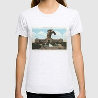 The King Of Austin Womens Fitted Tee Ash Grey SMALL