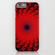 Red Space Spiral Fractal  iPhone 6 Slim Case