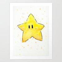 Invincibility Star Art Print
