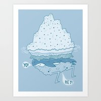 Iceburger Art Print