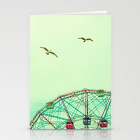 Rock And Spin Stationery Cards