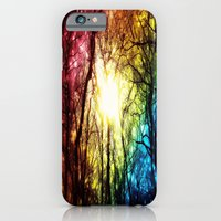 iPhone Cases featuring Rainbow by 2sweet4words Designs